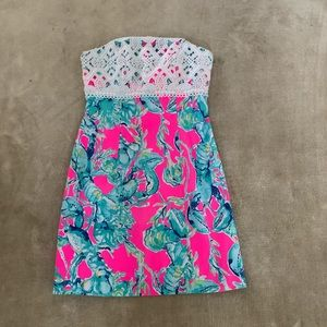 Strapless Lilly Pulitzer dress, never worn